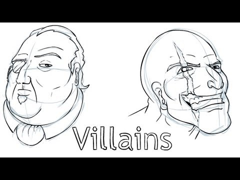 Let's Draw Villains!