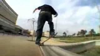 Josh Kalis skateboarding Alien workshop film