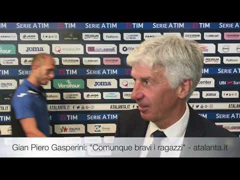 """Gian Piero Gasperini: """"Comunque bravi i ragazzi"""""""