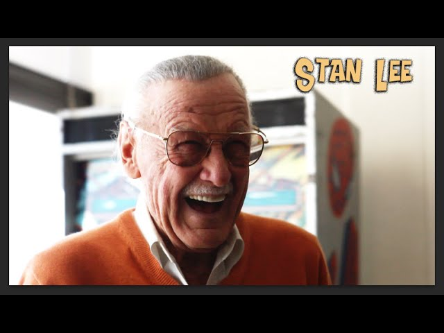 Found footage of Stan Lee announcing