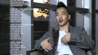 태양 Solar콘서트 메이킹(Taeyang Interview about his own concert)