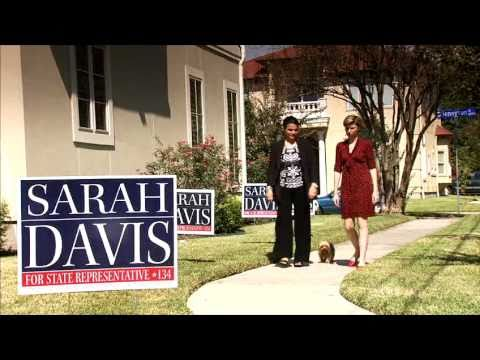 Who's Supporting Sarah Davis?