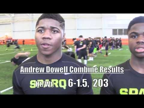 DAVID, ANDREW, and MICHAEL DOWELL @ 2014 Massillon Nike Combine