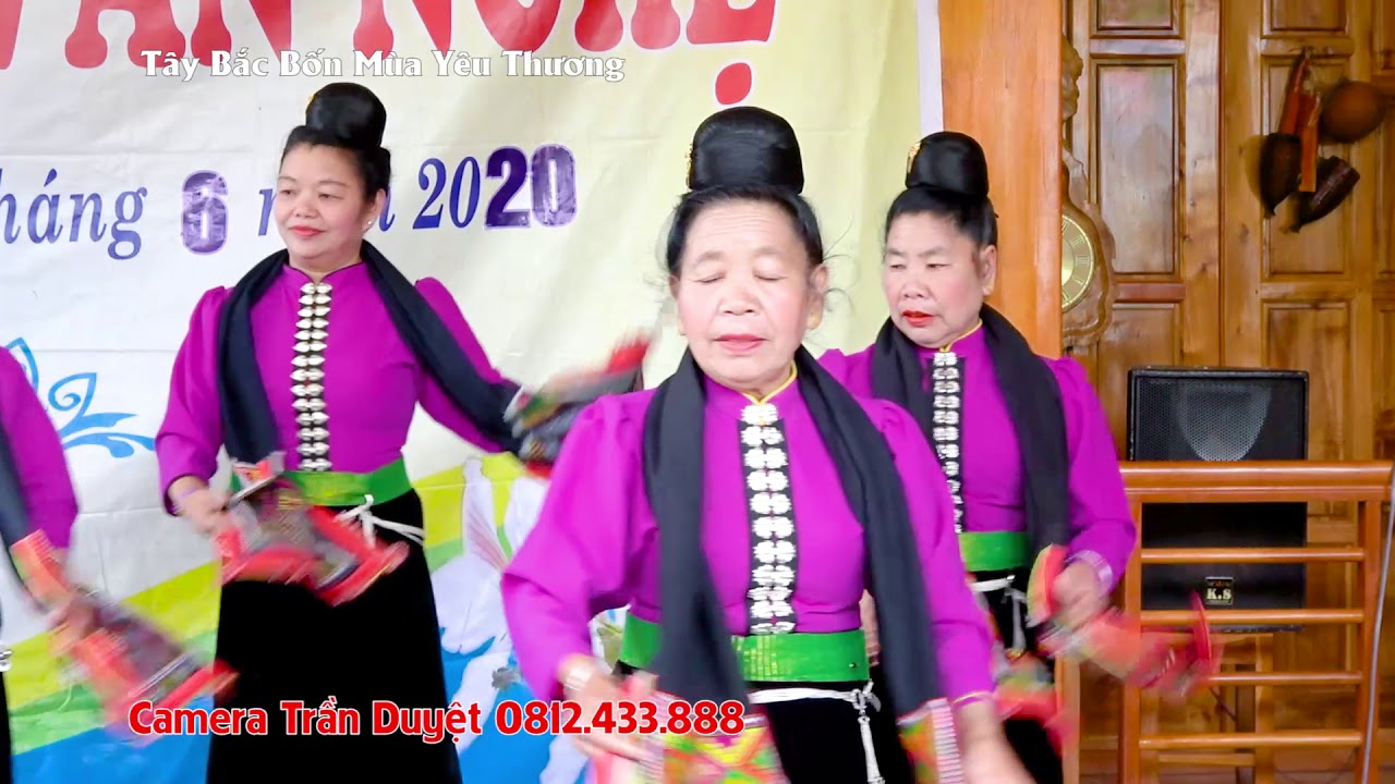 Múa Sắc Xuân ĐVN Ót Nọi Giao lưu VN TP Sơn La Điện Biên Yên Châu 07 06 2020