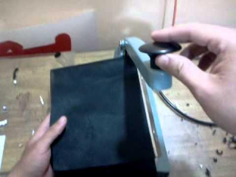 d32d00e83 Hacer bolsas para palanca de cambios de friselina para estampar! - YouTube