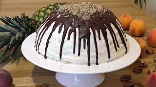 ВКУСНЕЙШИЙ ТОРТ ПАНЧО С АНАНАСАМИ ☆ Cake Pancho with Pineapples ☆  Марьяна