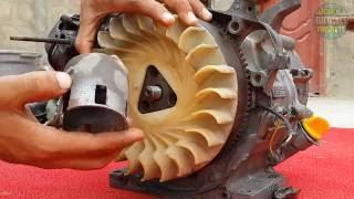 how to rebuild an engine honda honda gx240 rebuild honda generator repair part 2 of 3