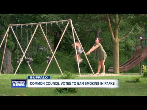 Buffalo Common Council votes to ban smoking in city parks