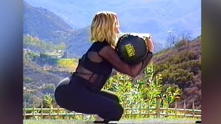 Khloe Kardashians Demonstrates How to Get A Booty in Retro Workout Video