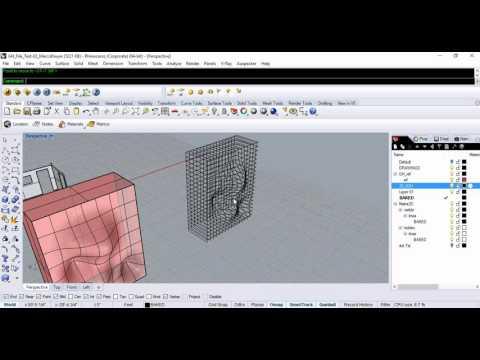 Parametric Wall Design Part 1 of 4 (Rhino + Grasshopper)