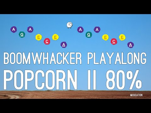 Popcorn II 80% - Boomwhacker Playalong