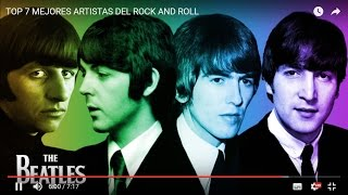 TOP 7 MEJORES ARTISTAS DEL ROCK AND ROLL