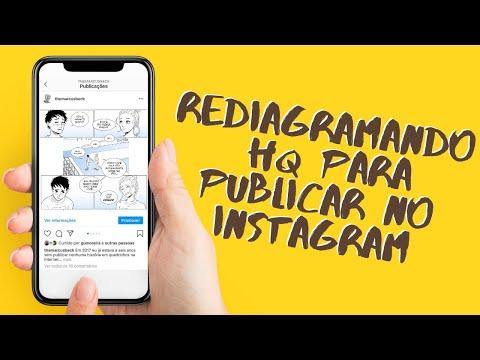Fazendo HQ para postar no Instagram