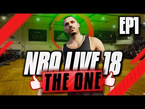 NBA LIVE 18 THE ONE GAMEPLAY - Creating A Wing With NASTY DUNKS!