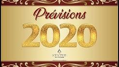 Prévisions 2020
