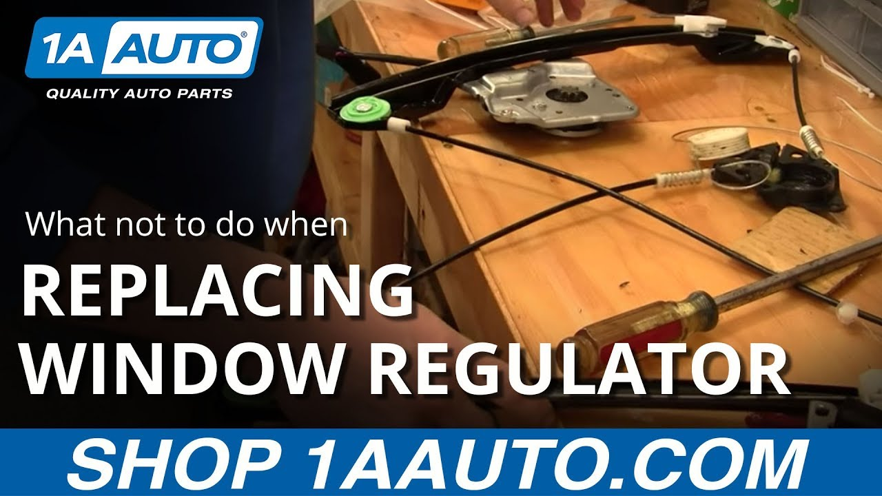 medium resolution of what not to do when replacing a power window motor buy quality auto parts at 1aauto com