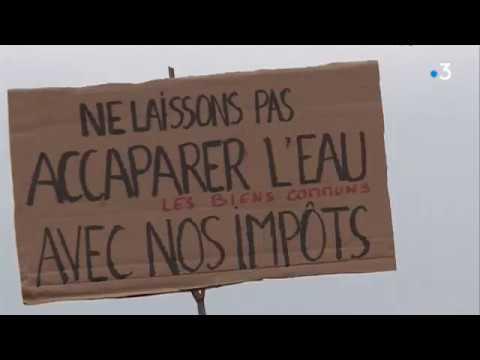 Migné-Auxances (86) : manifestation contre les bassines