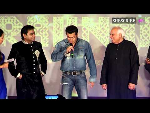 """A R Rahman is average"" says Salman Khan"