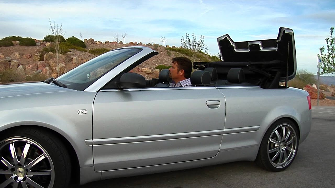 2004 audi s4 cabriolet test drive viva las vegas autos youtube. Black Bedroom Furniture Sets. Home Design Ideas