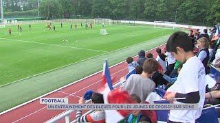 Yvelines | Football: Un entrainement des bleues ouvert aux jeunes de Croissy-sur-Seine