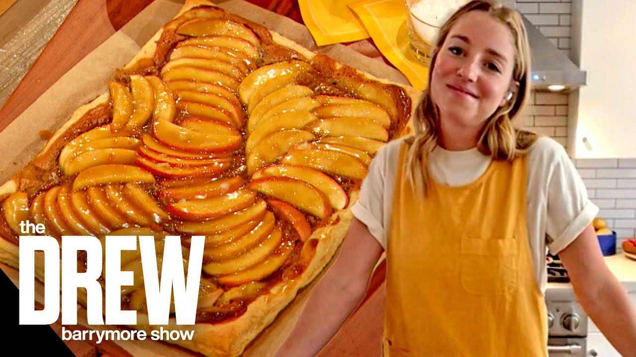 Molly Baz and Drew Whip Up a Delicious Miso Apple Tart