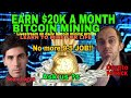 How I earn bitcoin mining profits - BTC Mining - cryptocurrency - 100k a year part 2/2