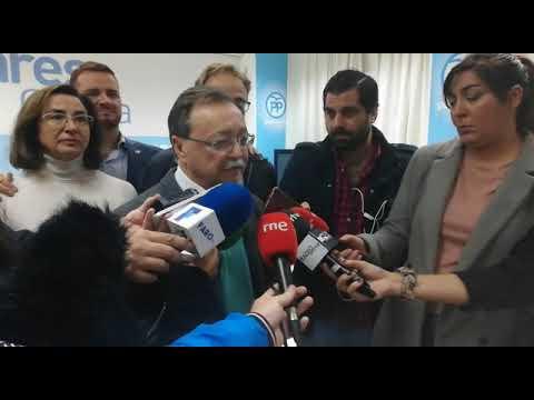 """Vivas felicita a Vox y anuncia """"reflexiones"""" en el PP ceutí"""