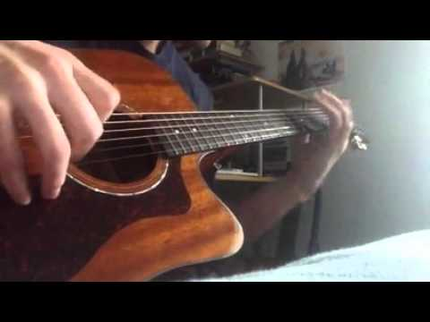 The Donegal Pilgrim - Dave Evans - fingerstyle guitar cover