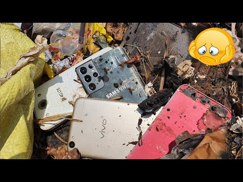 Restoring Abandoned Destroyed Phone, Found a lot of broken phones in the rubbish | Restore vivo