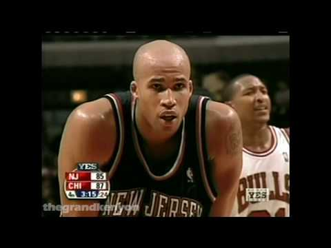 Richard Jefferson 26 points, career-high 21 rebounds, 9 assists & 3 steals vs. Bulls (Nov. 5, 2004)