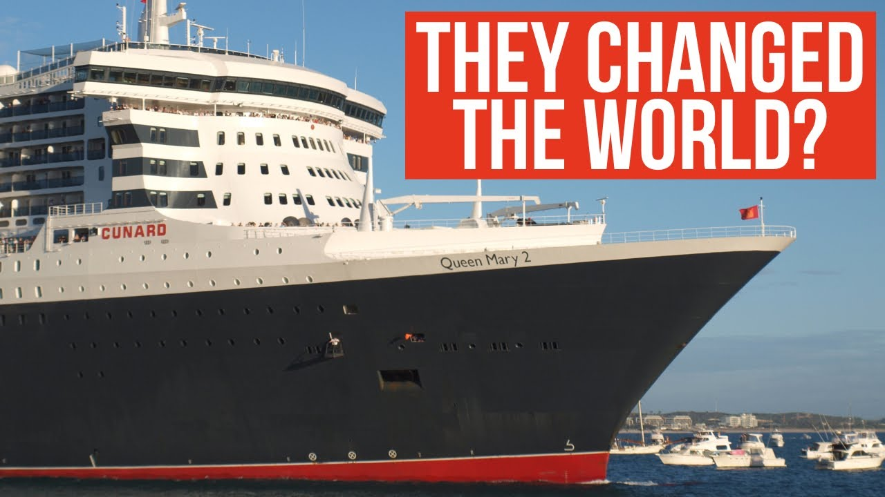 5 Times Cunard CHANGED THE WORLD - Cunard 180th Anniversary - From Britannia to Queen Mary 2!