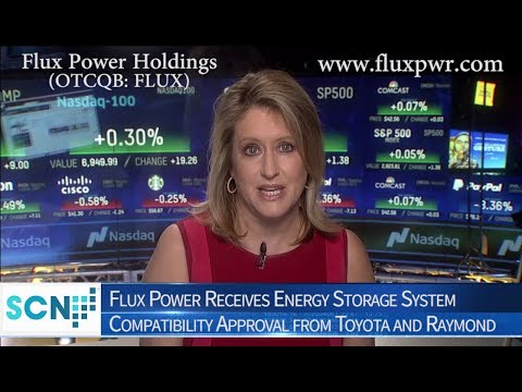 Lithium-Ion Battery Developer Flux Power Receives Energy Storage System Compatibility Approval