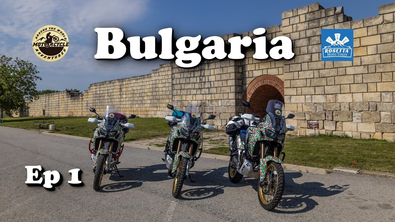 Ep 1 - Motorcycle Trip around Bulgaria / Pliska, Preslav & Madara