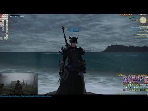 Final Fantasy XIV: Heavensward - All Class Battle Stance Emotes