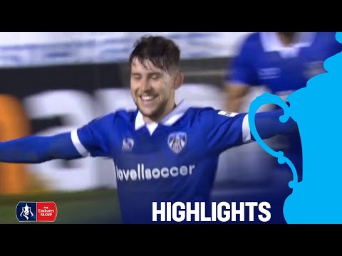 Hampton & Richmond 1-2 Oldham | 2 Late goals to Avoid Cupset! | Round 1 | Emirates FA Cup 2018/19