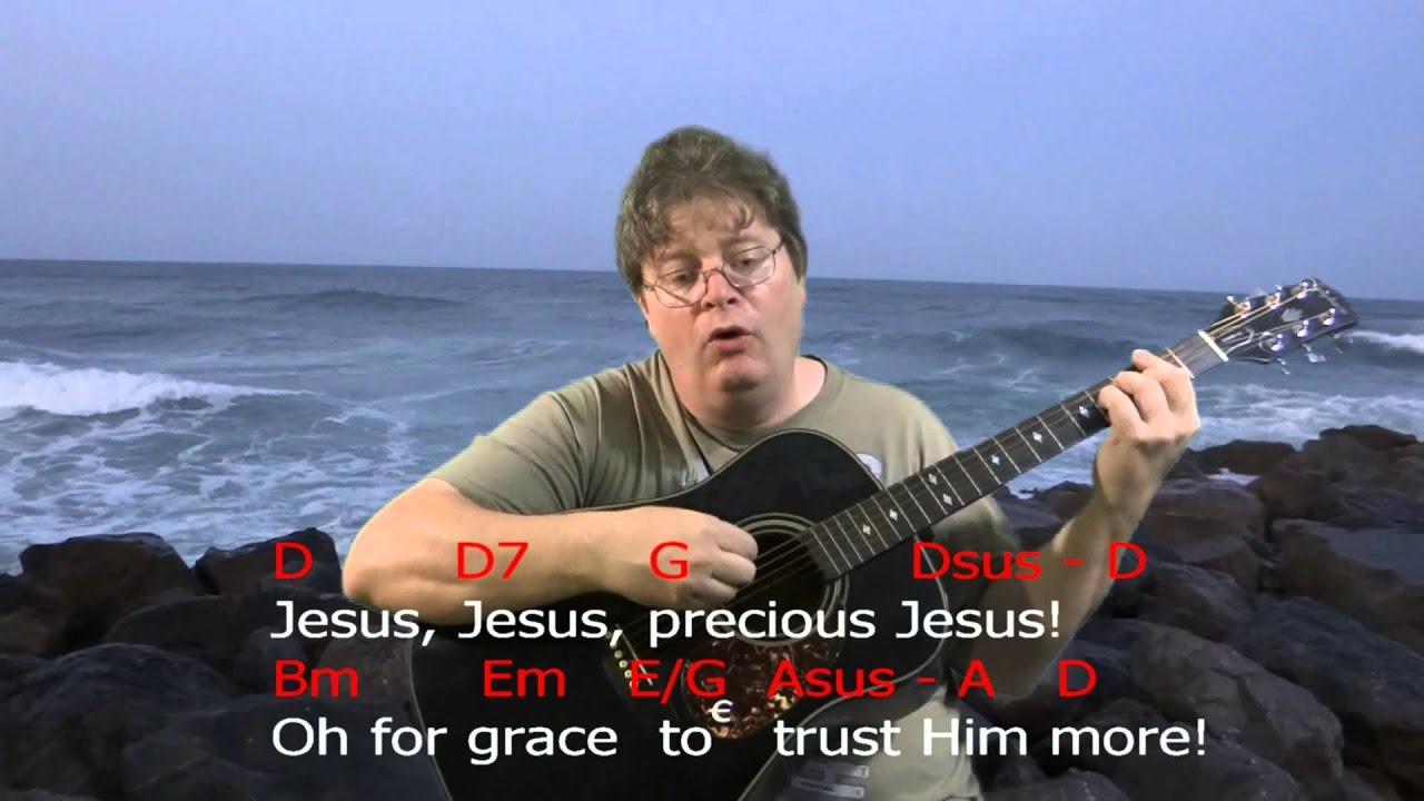 Learn To Play Tis So Sweet To Trust In Jesus Chord Practice