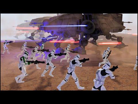 THE CLONES STRIKE AGAIN - Star Wars: Galaxy at War Mod Gameplay