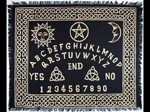 Ouija Spirit Board and Ghost Radio App Session