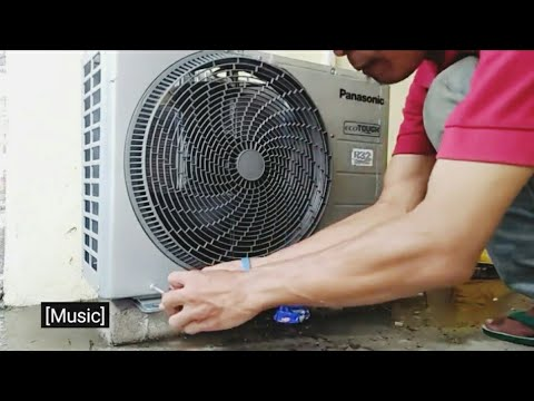 cuci ac panasonic | panasonic air conditioner cleaning