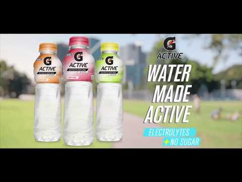 "G Active by Gatorade ""Running"" 30s TVC 2017 (Philippines)"