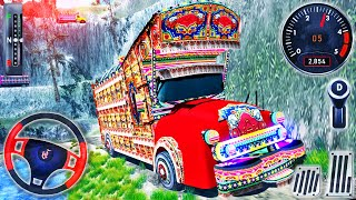 Offroad Indian Truck Driver 2021 - Kargo Sürüş Kamyon Simülatörü - Android GamePlay