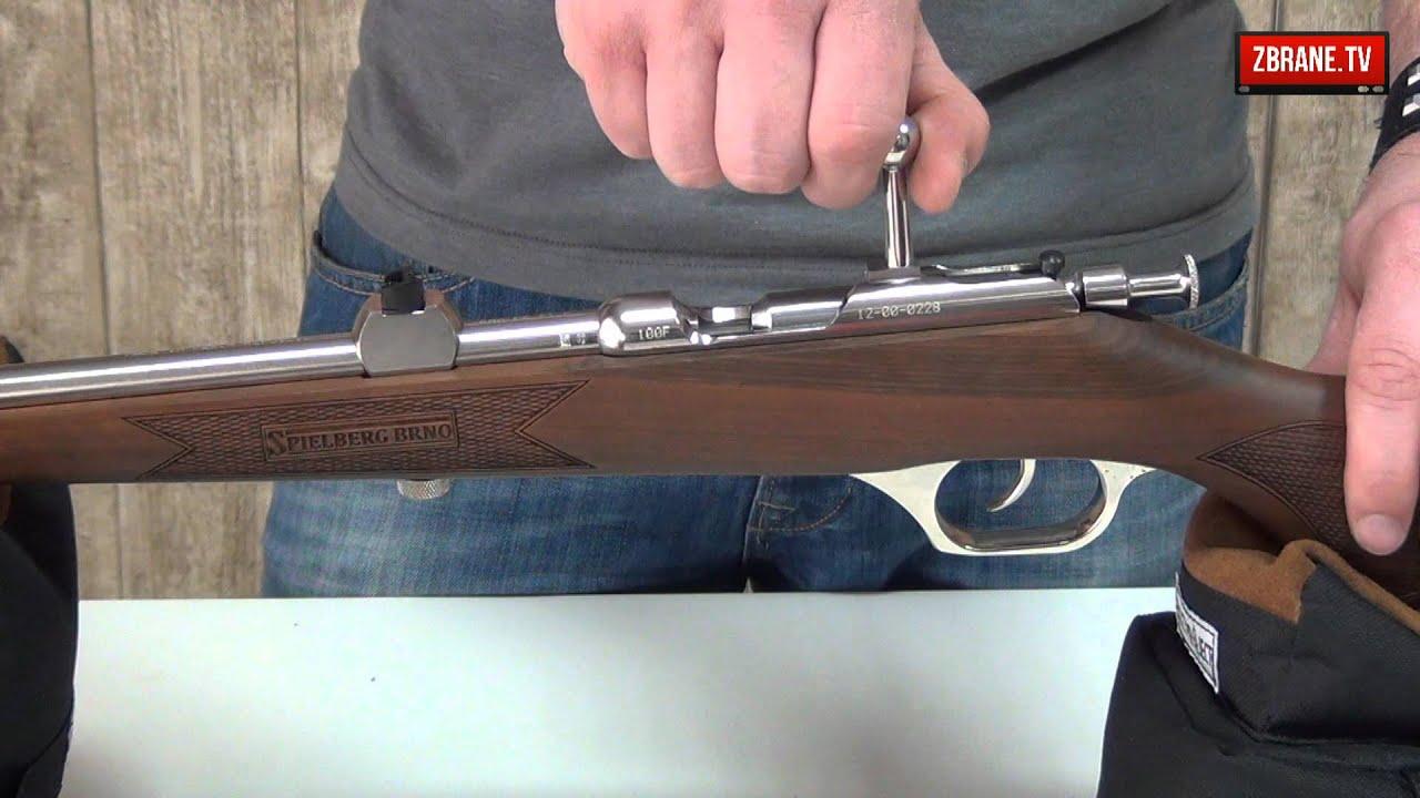 Flobert rifle Spielberg Brno 200F Steel Walnut with engraving