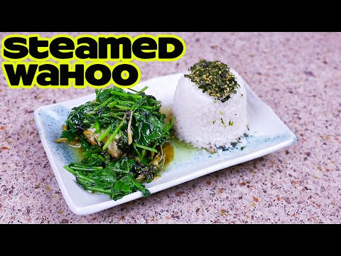Wahoo Catch Clean And Cook | Simple Steamed Fish Fillet Recipe | Fishing In Hawaii | Hawaii Fishing