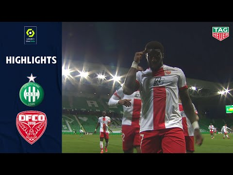 St. Etienne Dijon Goals And Highlights