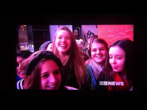 Channel 9 - One Direction Store Perth