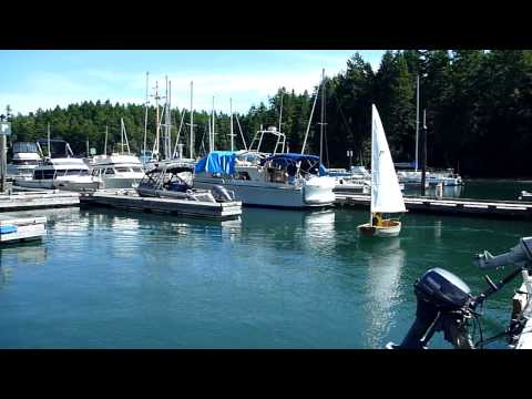 Test Sail in the Black Fly dinghy