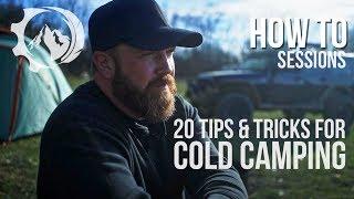 20 Cold Camping Hacks
