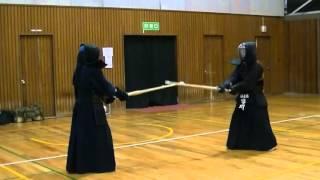 六段吉野先生 vs 三段市川さん.