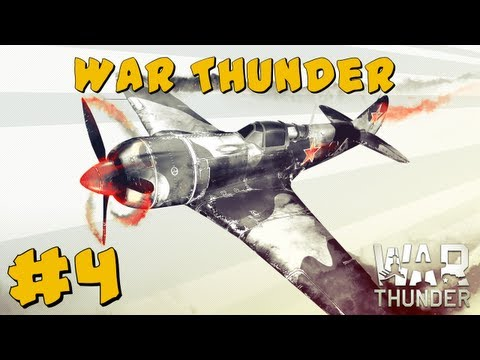War Thunder Gameplay #4 ~ The Flying Rats!
