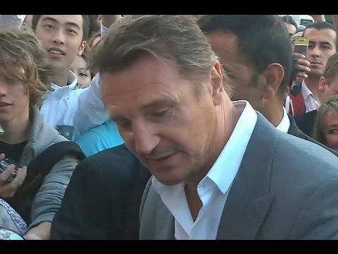 Liam Neeson à Paris pour l'avant premiere de Taken 2 le samedi 8 septembre 2012
